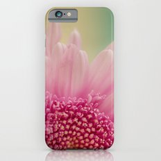 Pink bursts, Floral Macro Photography iPhone 6 Slim Case