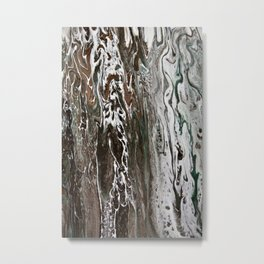 In the southern hemisphere moss grows on the south side of the tree Metal Print