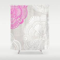 Doodle Doiley Shower Curtain