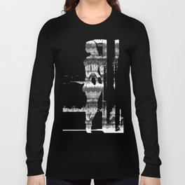 Skull Lace Long Sleeve T-shirt