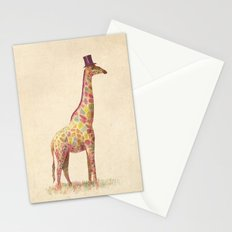 Fashionable Giraffe Stationery Cards