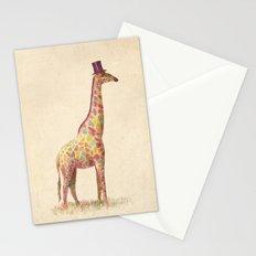 Fashionable Giraffe Stationery Cards
