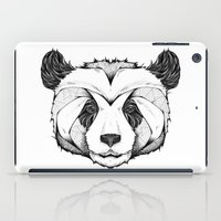 panda iPad Cases featuring Panda by Andreas Preis