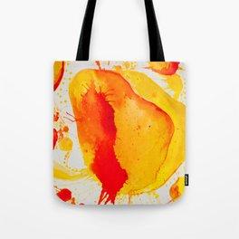 Orange Study Tote Bag