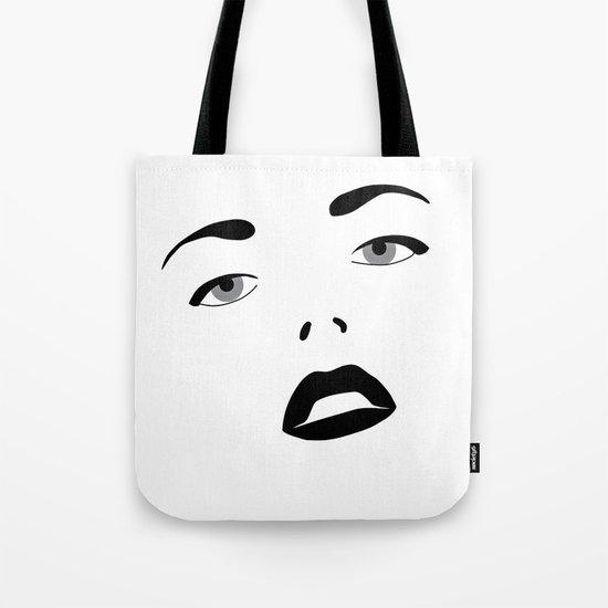 Glamour Girl Tote Bag