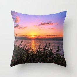 Sunrise 0101 Malibu Throw Pillow
