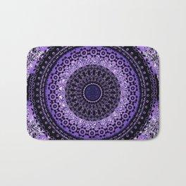 Purple Tapestry Mandala Bath Mat