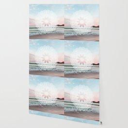 Seashell surf mandala Wallpaper