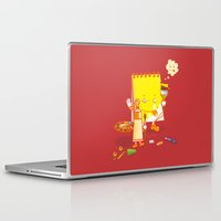 make up Laptop & iPad Skins featuring MAKE UP by Wantz