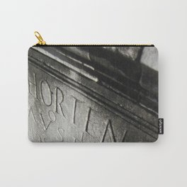 wisdom in stone. Carry-All Pouch