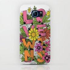 LOVE WINS Galaxy S6 Slim Case
