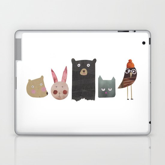 Animal love Laptop & iPad Skin
