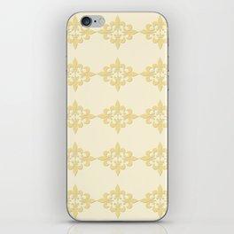 Fleur de lis 4 iPhone Skin