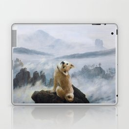 The Wanderer Above the Sea of Doge Laptop & iPad Skin