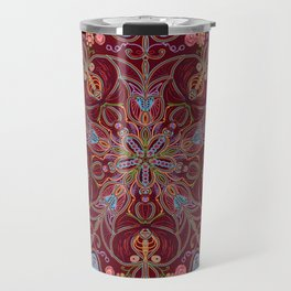 Colorful Mandala Travel Mug