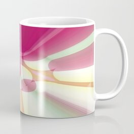 Striations Pinks and Beiges Coffee Mug