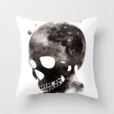 the darkest side Throw Pillow