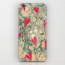 Valentine's Day, Alla hjärtans dag, Swirling harts <3 iPhone Skin