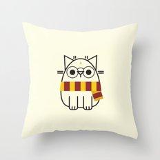 Harry Pawter Throw Pillow