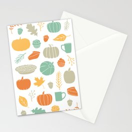 Fall Favorites Stationery Cards