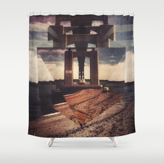 mnt hpe Shower Curtain