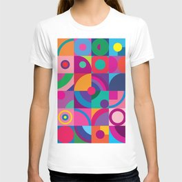 Colorful optical 2. T-shirt