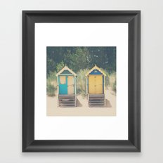 walking up the stairs ... Framed Art Print