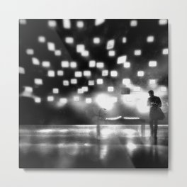 The Universe Experiencing Itself. Metal Print