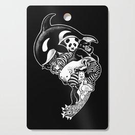 Monochromanimal (black) Cutting Board