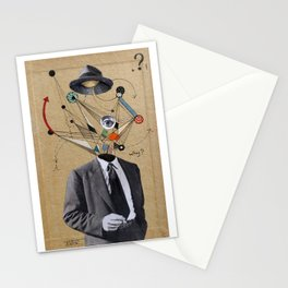 THE MAN WHO QUESTIONED EVERYTHING Stationery Cards