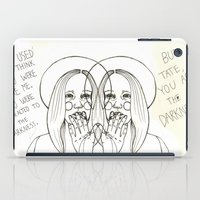 ahs iPad Cases featuring Violet AHS by Luna Perri