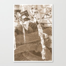 Industrial Woman Canvas Print