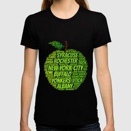 New York State Apple T-shirt
