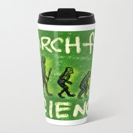 March For Science Metal Travel Mug