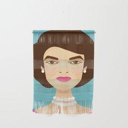Jackie Onassis Wall Hanging