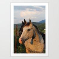 """You had me at horses..."" Art Print"