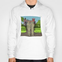 "broadway Hoodies featuring ""Tourists on Broadway"" 2013 a.correia by correia creative"