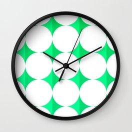 Diamond Stars Wall Clock
