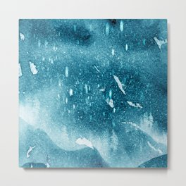 Snow-footed Metal Print