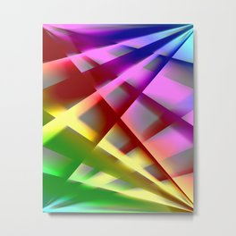 Colorgradient 15 Metal Print