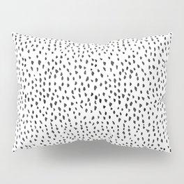Black and White Spots Pillow Sham