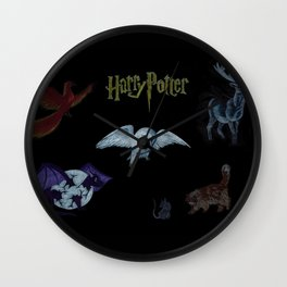 Harry Potter Creatures Wall Clock