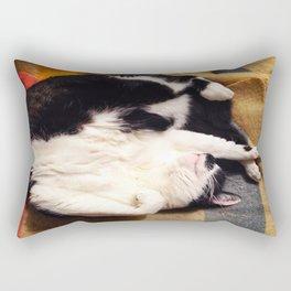 Cat Belly Rectangular Pillow