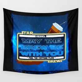 May the Brew be with You - The Coffee Wars - Jeronimo Rubio Photography and Art 2016 Wall Tapestry