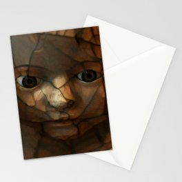 Old Doll Face Stationery Cards