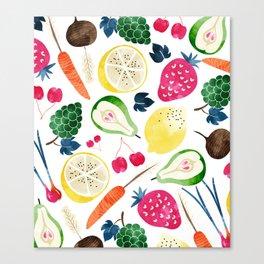 Veggie Heaven #society6 #society6artprint #buyart Canvas Print