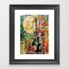 War & Peace Framed Art Print
