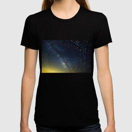 Milky Way bokeh T-shirt