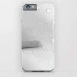 Calla Lily with Morning Dew iPhone Case