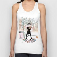 shoe Tank Tops featuring Shoe Boutique by Sonya Parra